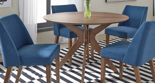 Side Chairs | Classic Blue Is For You | Jordan's Furniture Life&Style Blog