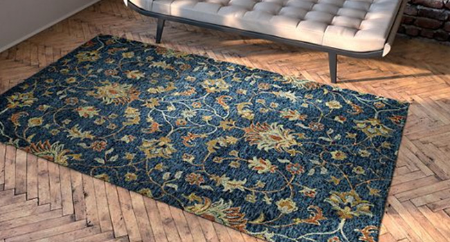 Rugs | Classic Blue Is For You | Jordan's Furniture Life&Style Blog