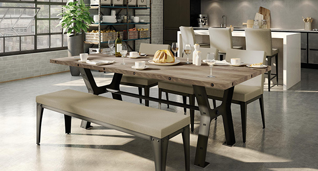 Benches | Dining In Style | Jordan's Furniture Life&Style Blog