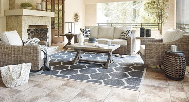 Wicker Furniture | Escape To The Coast | Jordan's Furniture Life&Style Blog