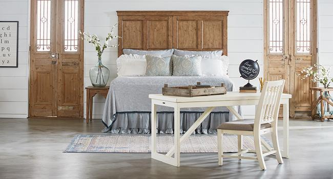 Beds | Farmhouse Fresh Style | Jordan's Furniture Life&Style Blog