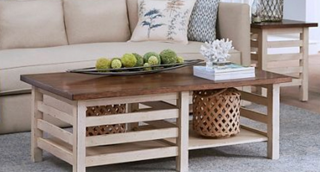 Cocktail Tables   Farmhouse Fresh Style   Jordan's Furniture Life&Style Blog