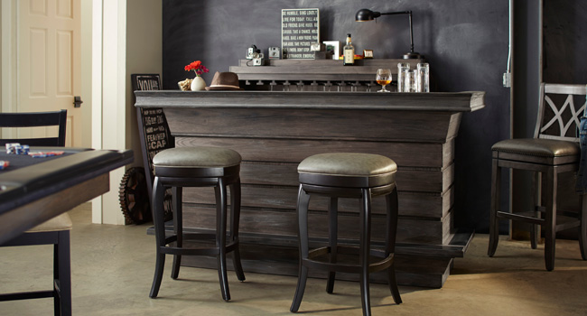 Bar Stools | Game Room Go-To's | Jordan's Furniture Life&Style Blog