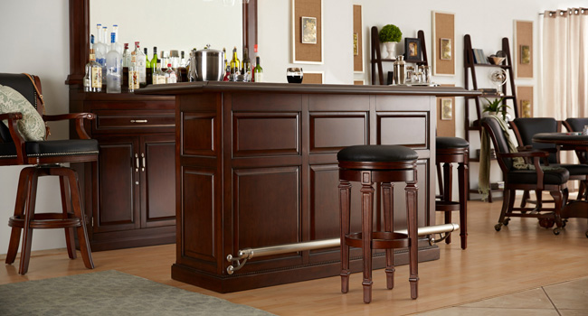 Bars | Game Room Go-To's | Jordan's Furniture Life&Style Blog