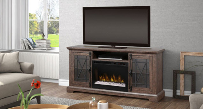Electric Fireplaces | Live on the Bright Side | Jordan's Furniture Life&Style Blog