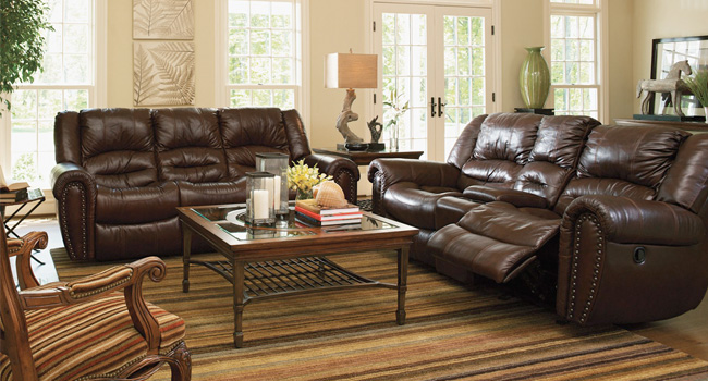 Leather Sofa | Luxurious Leather | Jordan's Furniture Life&Style Blog