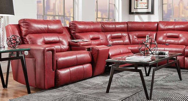 Leather Sectional | Luxurious Leather | Jordan's Furniture Life&Style Blog