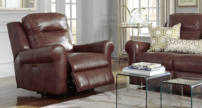 Leather Recliner | Luxurious Leather | Jordan's Furniture Life&Style Blog