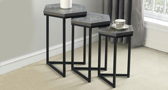 Nesting Tables | Memorable Accents | Jordan's Furniture Life&Style Blog