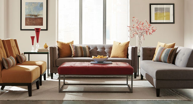 Sofas | Mid-Century Modern Marvelous | Jordan's Furniture Life&Style Blog