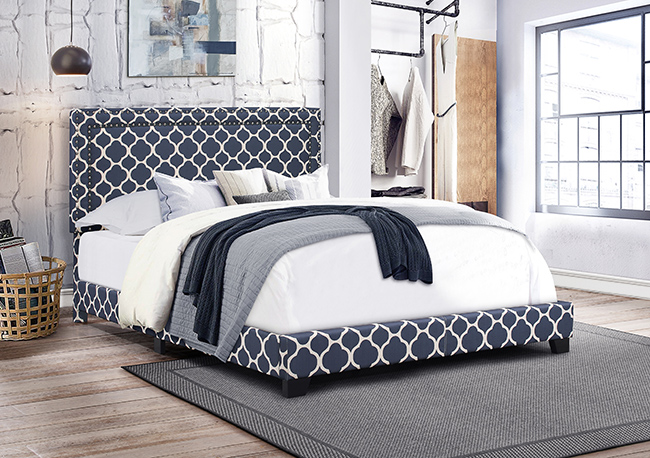bed patterns | Jordan's Furniture Life&Style blog | Pattern Pastiche