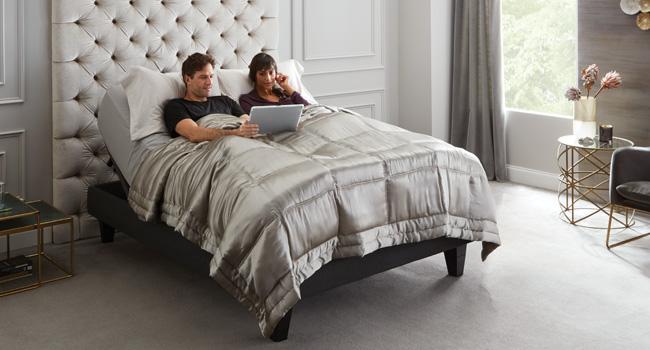 Adjustable Beds | Power Up | Jordan's Furniture Life&Style Blog
