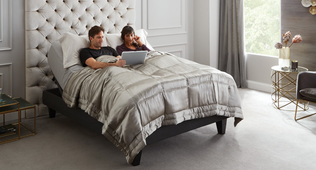 Adjustable Beds | Power Up | Jordan's Furniture Life&Style Blog