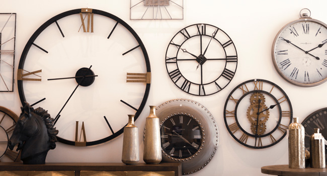Clocks | Telling Details | Jordan's Furniture Life&Style Blog