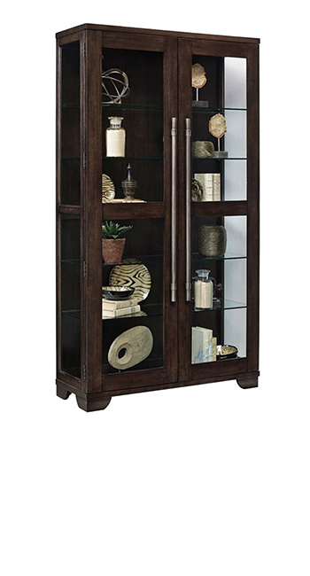 Curio Cabinets | Telling Details | Jordan's Furniture Life&Style Blog