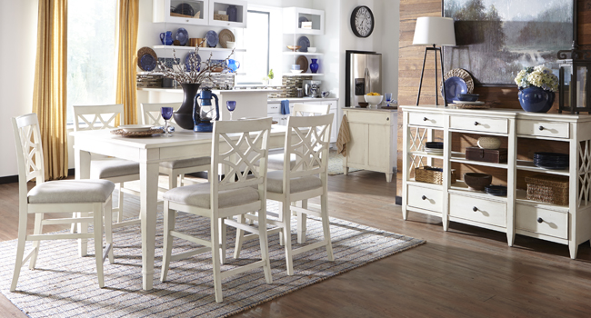 Farmhouse Refreshing | Classic or modern, this look brings practical charm to your home