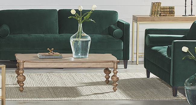 Feet First || Stylish feet and legs support the look and function of your favorite furniture