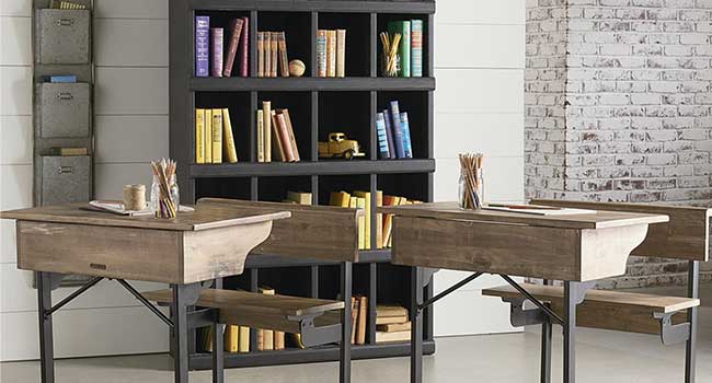 Bookcase to complement kids study space