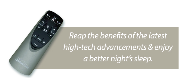 Reap the benefits of the latest high-tech advancements and enjoy a better night's sleep