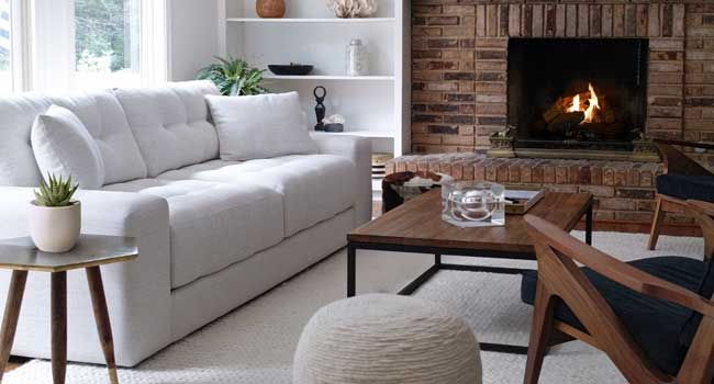 Minimalist Marvelous | Shop this Sofa | Get Inspired by the latest Jordan's Furniture Blog