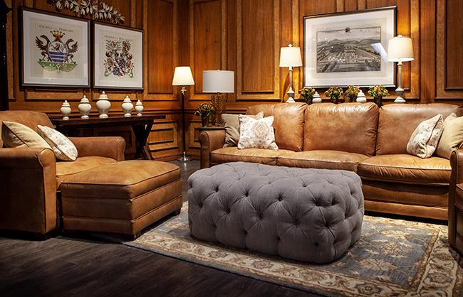 Shop this leather sofa at Jordan's Furniture