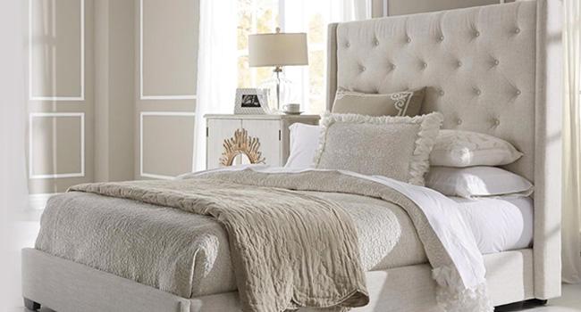 Beds | Timeless Tufting | Jordan's Furniture Life&Style Blog
