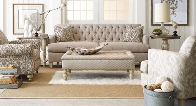 Sofas | Timeless Tufting | Jordan's Furniture Life&Style Blog