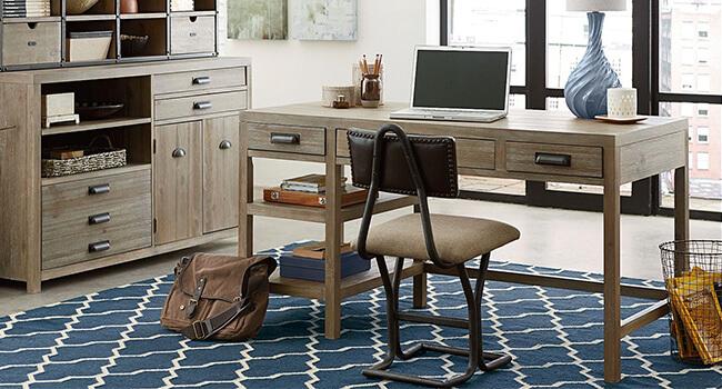 Back To School   Shop this desk at Jordan's Furniture