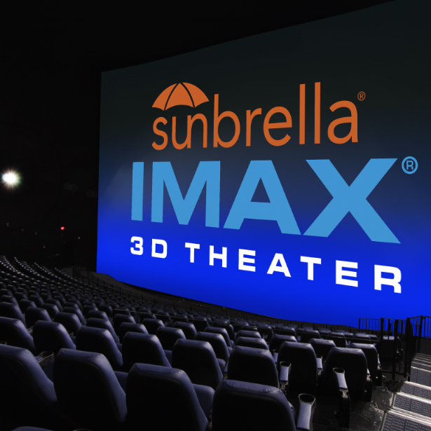 Sunbrella IMAX 3D movie theaters in Jordan's Furniture in Natick and Reading Ma