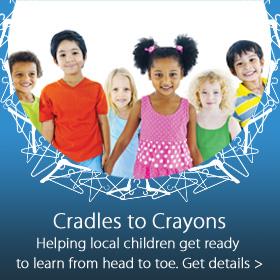 Cradles to Crayons partnership with Jordan's Furniture