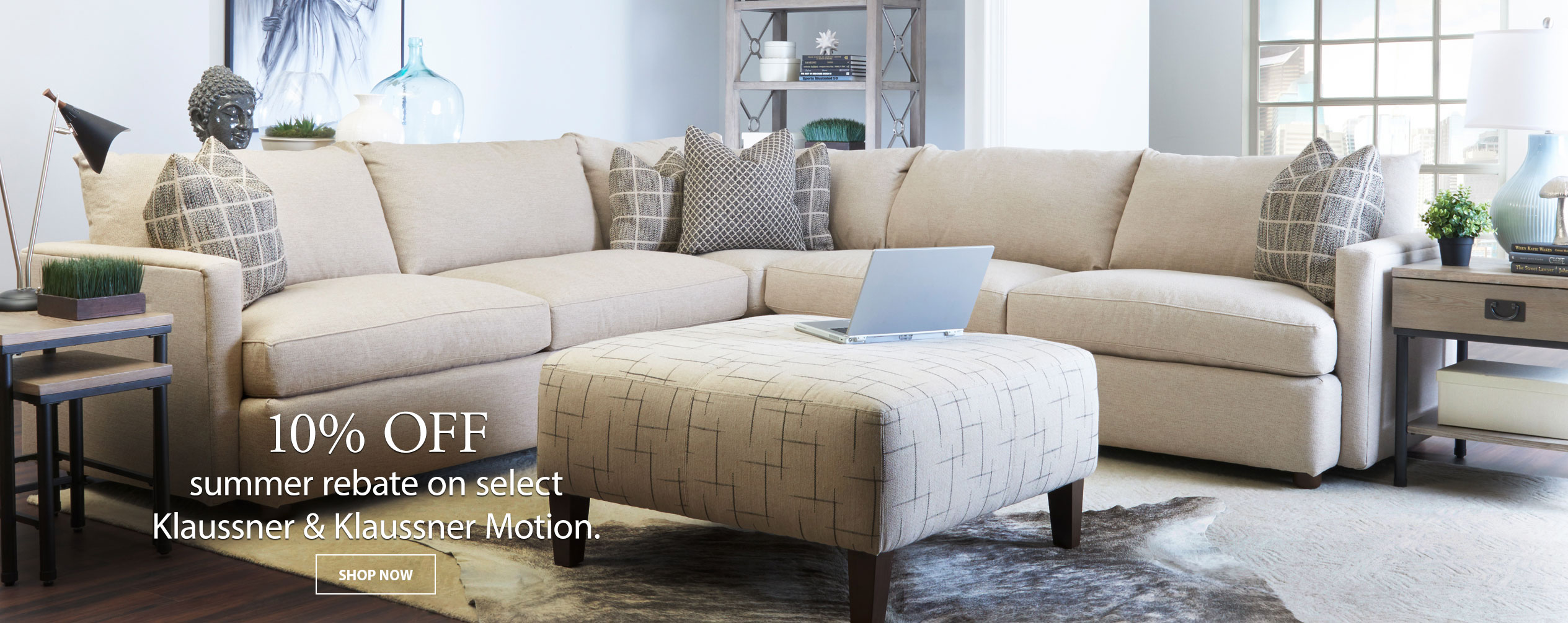 ... NH, And RI · 10% Off Manufactureru0027s Rebate On Select Klaussner U0026  Klaussner Motion Collections Until July 11 At ...