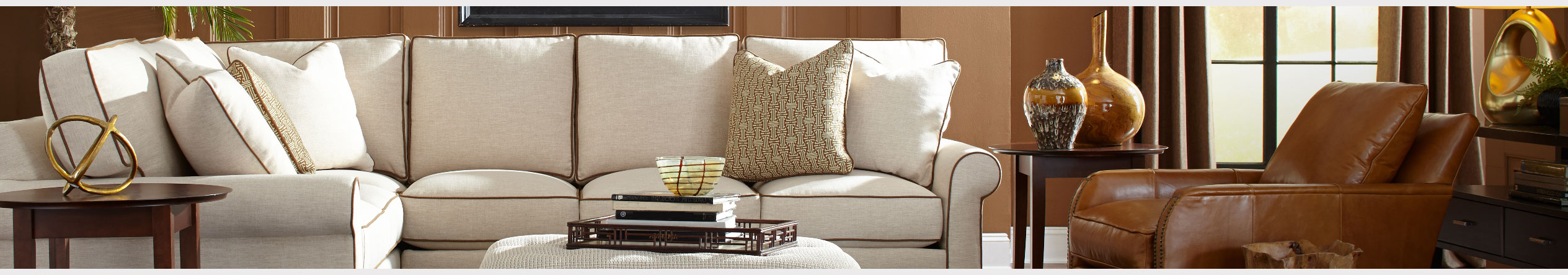 In Home Design at Jordan's Furniture stores in CT, MA, NH, and RI