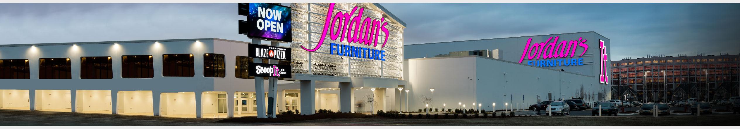Jordan's Furniture in New Haven, CT