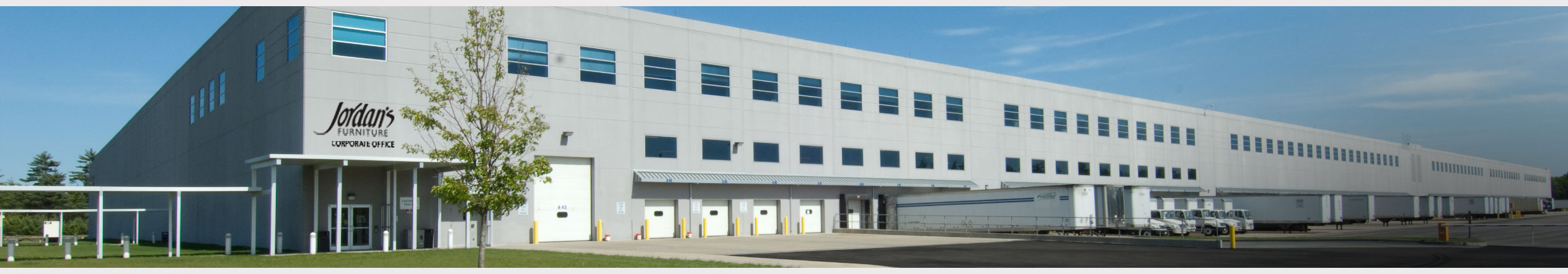 Jordan's Furniture Corporate Offices and Distribution Center in East Taunton, MA