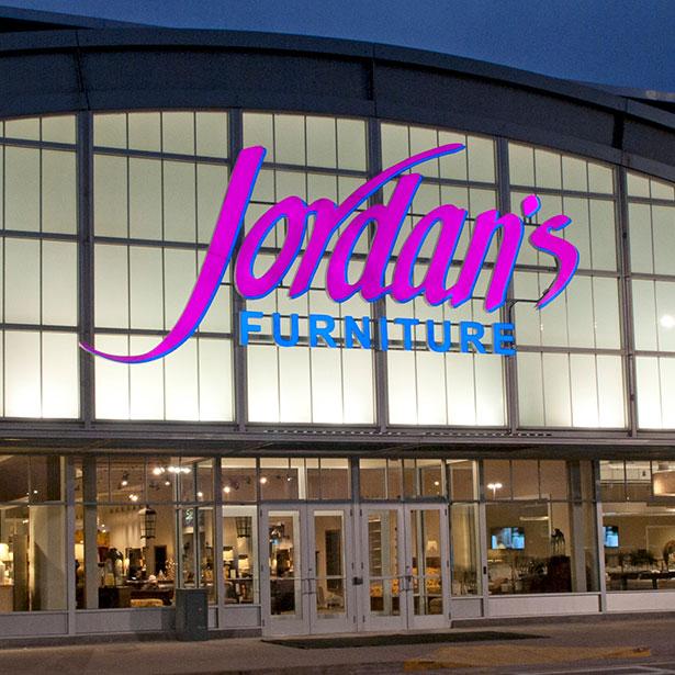 Jordan's Furniture in Warwick, RI