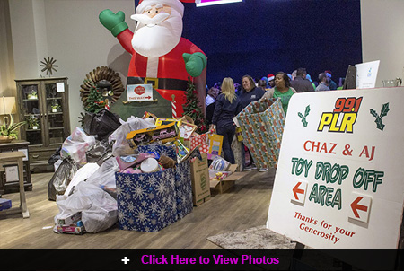 Jordan's Furniture Hosts 2019 Chaz & AJ Toy Drive in New Haven