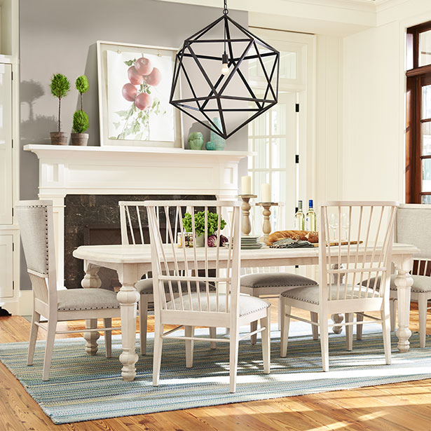 Shop Dining Rooms at Jordan's Furniture stores in CT, MA, NH, and RI