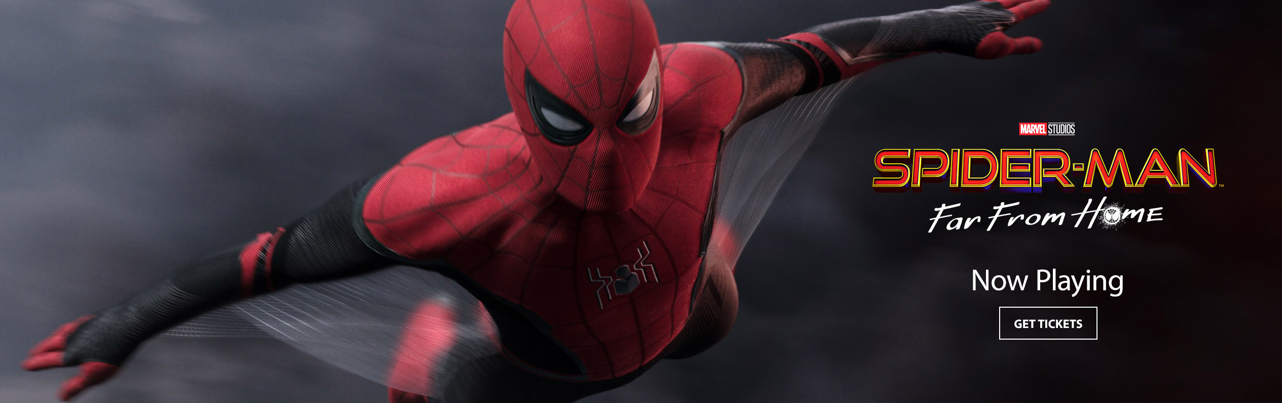 Spider Man Far From Home In The Sunbrella Imax Movie Theaters Jordan S Furniture