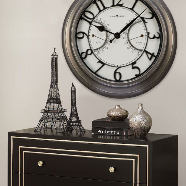 Accent Clocks at Jordan's Furniture stores in CT, MA, NH, and RI