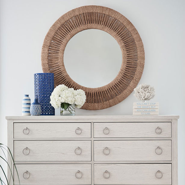Bedroom Mirrors at Jordan's Furniture stores in CT, MA, NH, and RI
