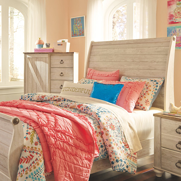 Shop Kids Bedroom in the Furniture Factory Outlet  at Jordan's Furniture stores in CT, MA, NH and RI