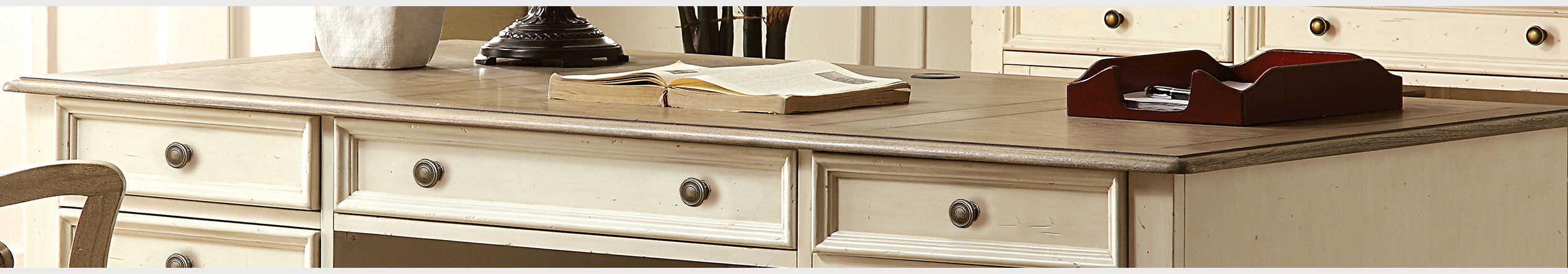 Shop Home Office Desks at Jordan's Furniture stores in CT, MA, ME, NH, ME,  and RI