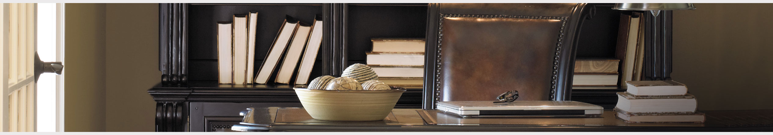 Shop Home Office Bookcases at Jordan's Furniture stores in CT, MA, ME, NH, ME,  and RI