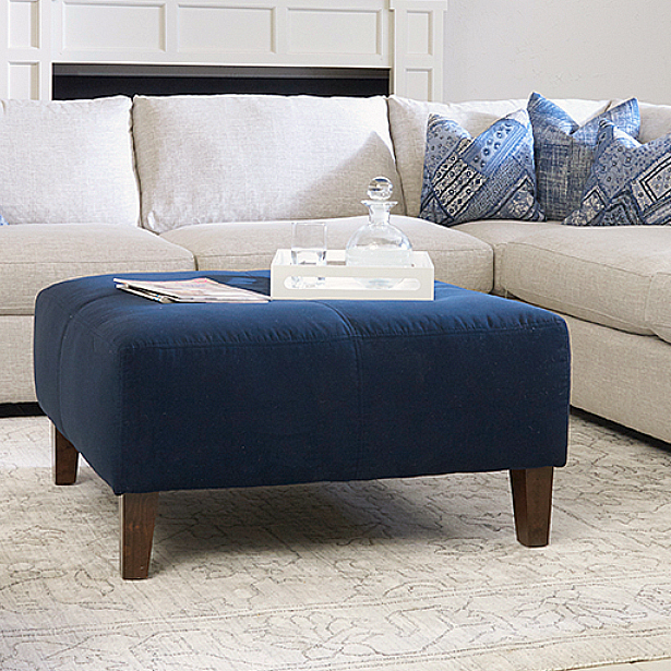 Living Room Ottomans at Jordan's Furniture stores in CT, MA, NH, and RI