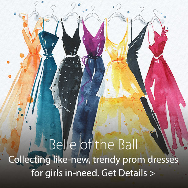 Jordan's Furniture Belle of the Ball program donating like-new, stylish dresses so girls in need can go to the prom