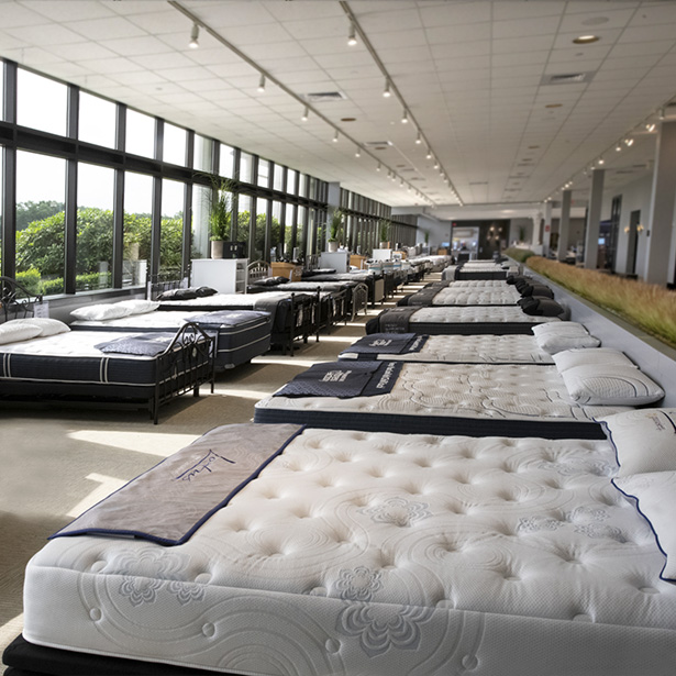 Compare Mattress Brands at Jordan's Furniture stores in CT, MA, NH, and RI