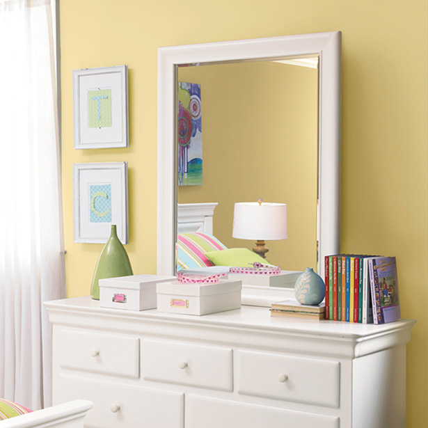 Shop our Kids Bedroom Mirror selection at Jordan's Furniture located in CT, MA, NH and RI!