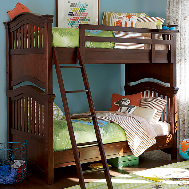 Shop our Kids Bedroom bunk bed selection at Jordan's Furniture located in CT, MA, NH and RI!