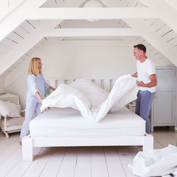 Learn About Mattress Care at Jordan's Furniture stores in CT, MA, NH, and RI