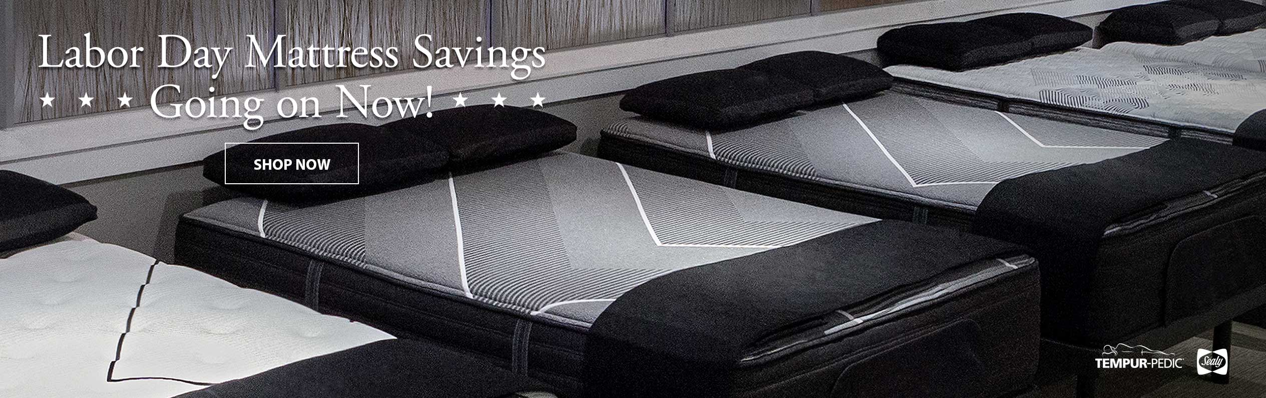 Save on select mattresses during the Labor Day Savings Event at Jordans Furniture
